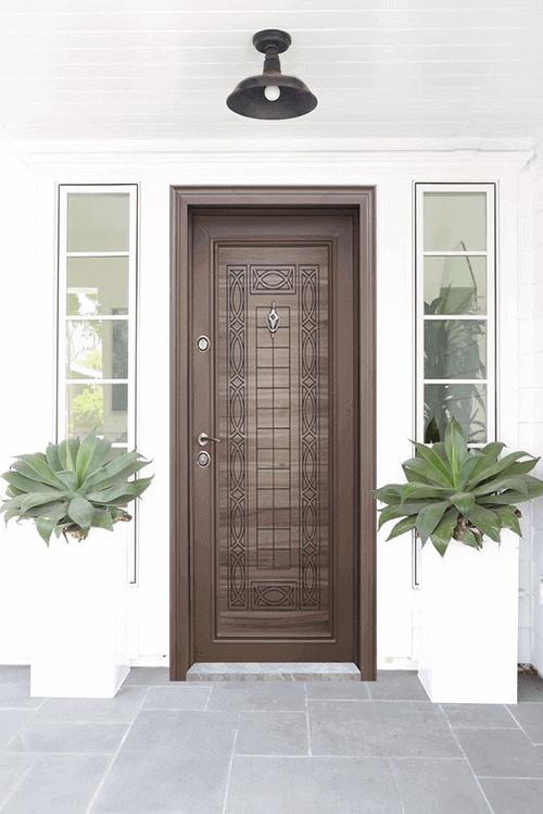 Блиндираната врата и външните атмосферни условия