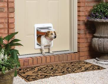 Вратичка на входната врата за домашен любимец
