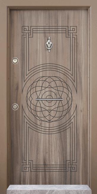 Блиндирана врата, която е подходяща за къща