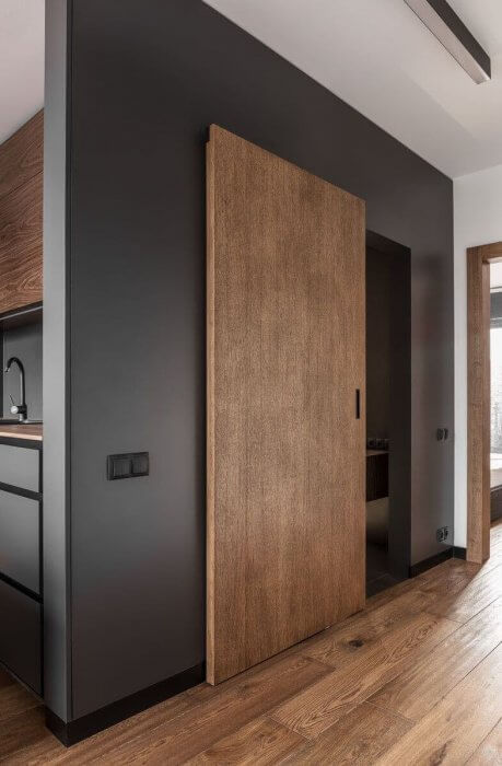 Комбинации на цветове на Интериорните врати с останалия дизайн