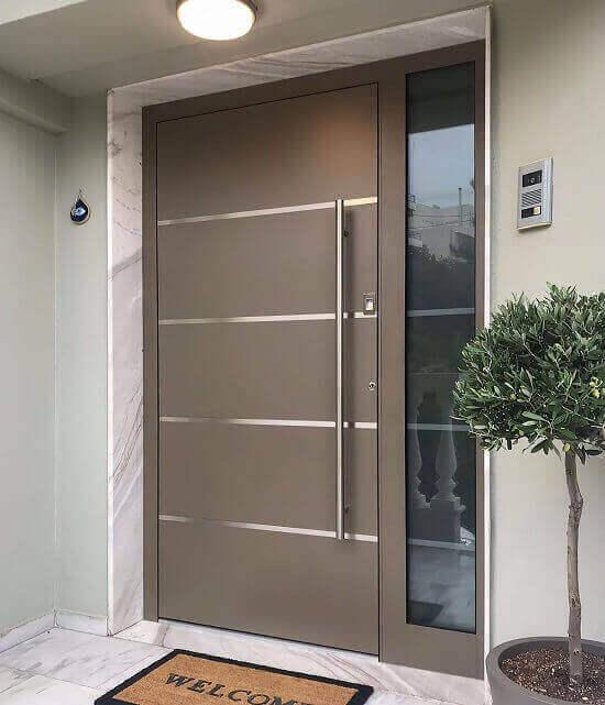 Блиднирана врата с висока степен на сигурност